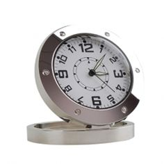 Motion Detecting Sight and Sound Recording Spy Clock DVR with 5 Megapixel Camera Wireless Spy Camera, Wireless Surveillance Camera, Video Surveillance Cameras, Home Surveillance, Pen Camera, Covert Cameras, Hidden Spy Camera, Spy Gear, Self Defense Weapons
