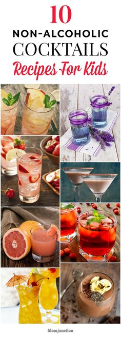 Add zest in your child's life with kids cocktails. Non-alcoholic cocktails for kids can cheer them up. Read on to know cocktail recipes for kids