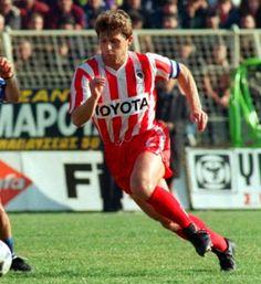 Αποστολάκης Στράτος. Αγρίνιο. (1964). Αμυντικός. Από το 1985-1990. (132 συμμετοχές  5 goals). ( ψευδώνυμο '' ΤΟΥΡΜΠΟ '' ). Passion, History, Sports, Red, Greek, Hs Sports, Historia, Sport