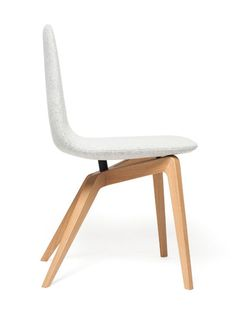 Bamby Chair is a minimal chair designed by Duchaufour-Lawrance.