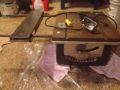 vintage combination table saw - Google Search