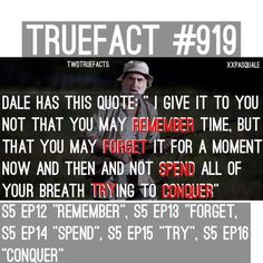 """Awesome fact about the titles! @WalkingDead_AMC @GunnerGale @TheWalkingDead @rkmaxfield @ScottMGimple @EulynCHW #TWD"""