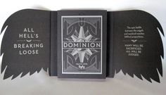 Dominion Season 2 Press Kit w/DVD, Map, Charger, MORE!  MINT Condition!