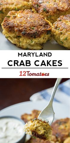Classic Maryland Crab Cakes - pay no mind to the baking sheet part. You can simply put them in fridge for 30 minutes prior to frying. Pan fry as stated! Crab Recipes, New Recipes, Dinner Recipes, Cooking Recipes, Favorite Recipes, Recipies, Salmon Recipes, Crab Dishes, Seafood Dishes