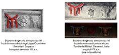 """Interesantă este încadrarea stâlpului suplicatoriu în Y între două simboluri """"I"""". Această grupare simbolistică face trimitere la reprezentarea cultului Pomului Vieţii în civilizaţiile sumeriană, asiriană, egipteană, precum şi mayaşă, reprezentări în care Pomul Vieţii este încadrat între cel puţin două siluete umane sau divine aflate în poziţii sugerând venerarea, amplasate la stânga şi la dreapta Pomului Vieţii.  Asociind Pomul Vieţii cu substitutul acestuia - stâlpul suplicatoriu în Y, şi… Bulgaria, Italia"""