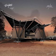 Eco Cabin, Model Sketch, Instagram Design, High Contrast, Texture Mapping, Design Projects, How To Draw Hands, Digital, Architecture