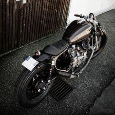 Honda Cafe Racer #motorcycles #motos #caferacer | caferacerpasion.com