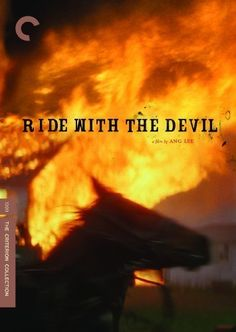 Ride With the Devil The Criterion Collection DVD Civil War Epic Ang Lee 148 min Streaming Movies, Hd Movies, Movies Online, Films, Movie Film, Deadpool, Jeffrey Wright, Skeet Ulrich, The Criterion Collection