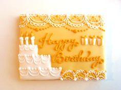 Birthday icingcookies#sugarcookies #アイシングクッキー#誕生日 Cake Cookies, Sugar Cookies, Cookie Cake Birthday, Bake Sale, Birthday Celebration, Cookie Decorating, Icing, Birthdays, Baby Shower