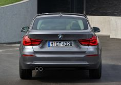 2018 BMW 3 series rear angle