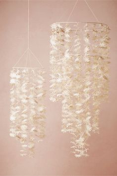 Paper Starflower Chandelier in Décor View All Décor at BHLDN