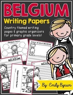 Belgium Writing Pages