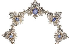 Sapphire Tiara - COLLECTION OF PRINCESS COLONNA