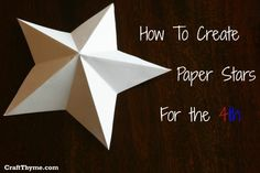 Crédity image : http://craftthyme.com/paper-stars-how-to-5-point/