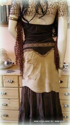 leder zipfelrock mit verspielten spitzeneinsätzen Rock, Outfit, How To Wear, Dresses, Fashion, Middle Ages, Leather, Kleding, Outfits