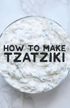 This healthy and refreshing tzatziki recipe is a simple and classic Greek yogurt sauce. A great easy dipping sauce for on gyros, as a salad dressing, or for dipping crackers or fresh veggies! food videos How To Make The World's Best Tzatziki Sauce Best Tzatziki Recipe, Tzatziki Recipes, Cucumber Recipes, Homemade Tzatziki Sauce, Recipes For Cucumbers, Pea Salad Recipes, Homemade Salsa, Sauce Recipes, Cooking Recipes