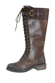 White Mountain Flashback Tall Combat Boot