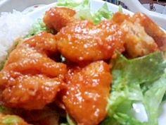 「安く簡単に作れる♪エビマヨならぬ「鶏マヨ」」エビはなかなか買おうという気にならないので(笑)安く手に入る鶏むね肉で作りました。【楽天レシピ】