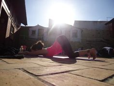 Every morning we start the day with a yoga class. Classes are for all levels and they include a lot of personal attention. Either Sandra or Evalien teaches class with the other adjusting and giving alternative options to fit everyones needs.