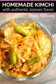 Learn how to make homemade Kimchi in this quick and easy fermented veggie recipe. This spicy Korean condiment can be eaten with most Asian meals. Cabbage Recipes, Vegetable Recipes, Kale Recipes, Roast Recipes, Fudge Recipes, Steak Recipes, Turkey Recipes, Potato Recipes, Real Food Recipes