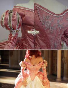 The Little Mermaid Pink Dress by Lillyxandra.deviantart.com on @deviantART