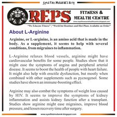 49 best reps fitness health centre images on pinterest amazing about larginine reps fitness health centre weeducatefitness fandeluxe Image collections