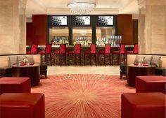 JW Marriott, Chicago, Illinois Gorgeous marble bar by Dileonardo design company