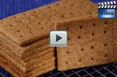 Homemade Graham Crackers - Joyofbaking.com