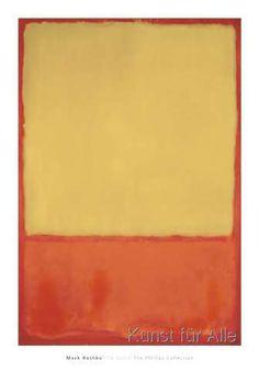 Mark Rothko - The Ochre (Ochre, Red on Red), 1954
