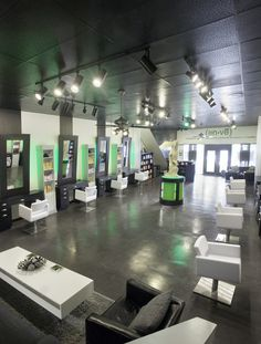 Modern Salon Stations