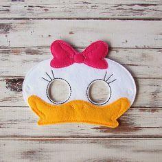 Máscara de pato, fieltro, la máscara de animal, Juego de imaginación, de vestir, de Halloween, vestuario