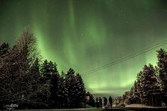 Northern Lights Lapland Ruka Kuusamo Finland