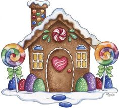 Welcome to the world of the unique and beautiful designs of the gingerbread house! ❤️