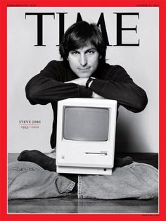 Steve Jobs Time Magazine cover
