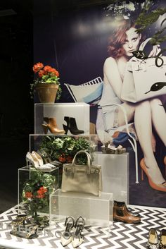 Kurt Geiger Window Display | Spring/Summer, 2014 by Millington Associates