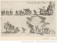 Entrée de Monseigneur le Prince de Pfaltzbourg venant au combat : [estampe] / Jac. Callot Fe - 1