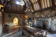 Banquet The castle, in the village of Ardrahan in County Galway, Ireland, even has a medieval hall for feasting