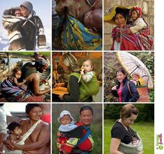 Babywearing all over the world!