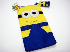 minion pencil case to sew