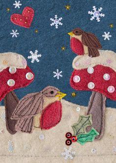 Christmas card design... Sarah Pattison Design - find me on facebook! © Sarah Pattison Design 2013