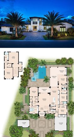 House Plans Mansion, Sims House Plans, House Layout Plans, Family House Plans, New House Plans, Dream House Plans, House Layouts, House Floor Plans, Sims House Design