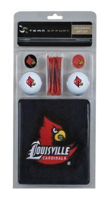 Team Effort NCAA Golf Gift Set - University of Louisville