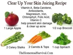 Food detox for acne