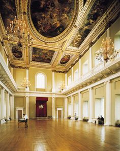 Banqueting House Whitehall London.  (Last surviving structure of the historical Whitehall Palace.)