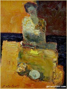 "Dan McCaw   ""Patterns""   Oil, 12 x 9"""