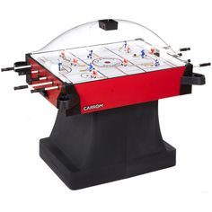 New Arrival!  Carrom Signature Stick Hockey - Pedestal - Red Get 10% OFF! ENTER GAMEROOM17 @ checkout