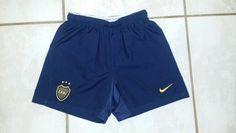 NIKE Boca Juniors Argentina Soccer Shorts Argentina Soccer, Soccer Uniforms, Soccer Shorts, Custom Made, Sportswear, Nike, Elegant, Fashion, Classy
