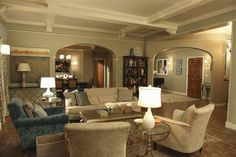 Get the look: Have a living room like Olivia Pope on 'Scandal'