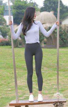 Yoga Pants, Sporty, Asian, Leggings, Sexy, Beauty, Women, Style, Swag