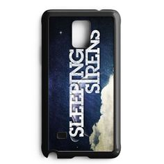 Sleeping With Sirens Nebula Galaxy Logo Art Samsung Galaxy Note 4 Case